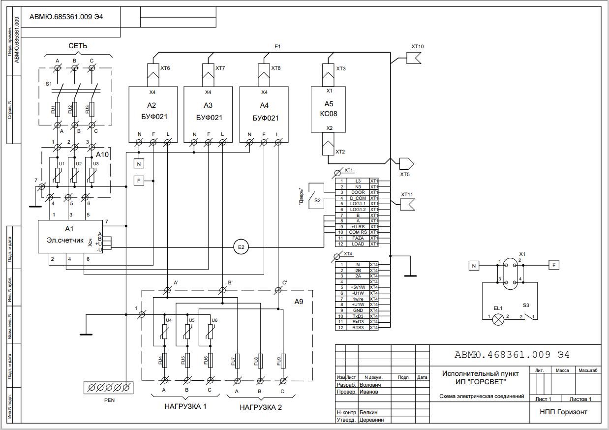 ИП_Горсвет_схема_электрических_соединений